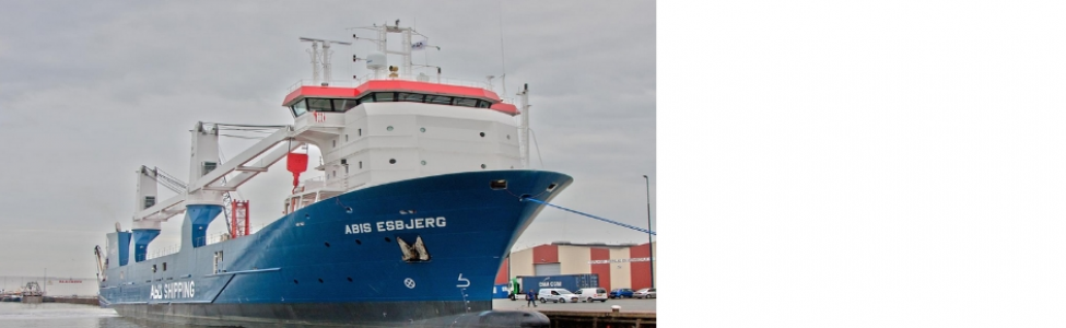 Successful delivery m.v. Abis Esbjerg buildnumber 123 for Abis Shipping