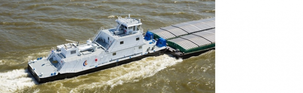 One new river pushers in order at Bodewes Harlingen Shipyards