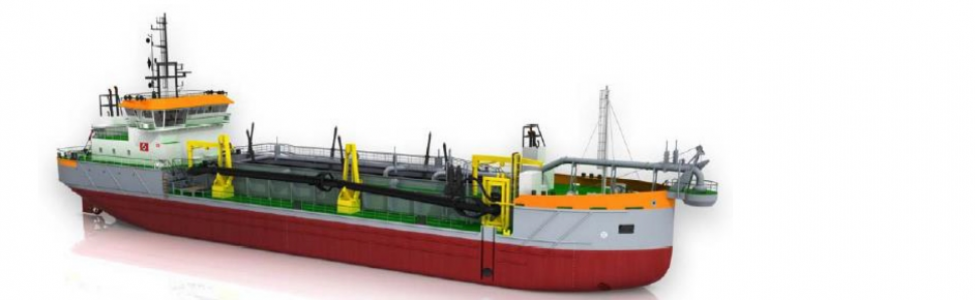 In order a Twin Screw Trailing Suction Hopper Dredger, buildnumber 1295