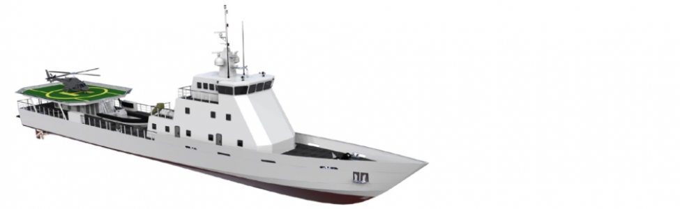 Delivery Equipment OPV Vessel